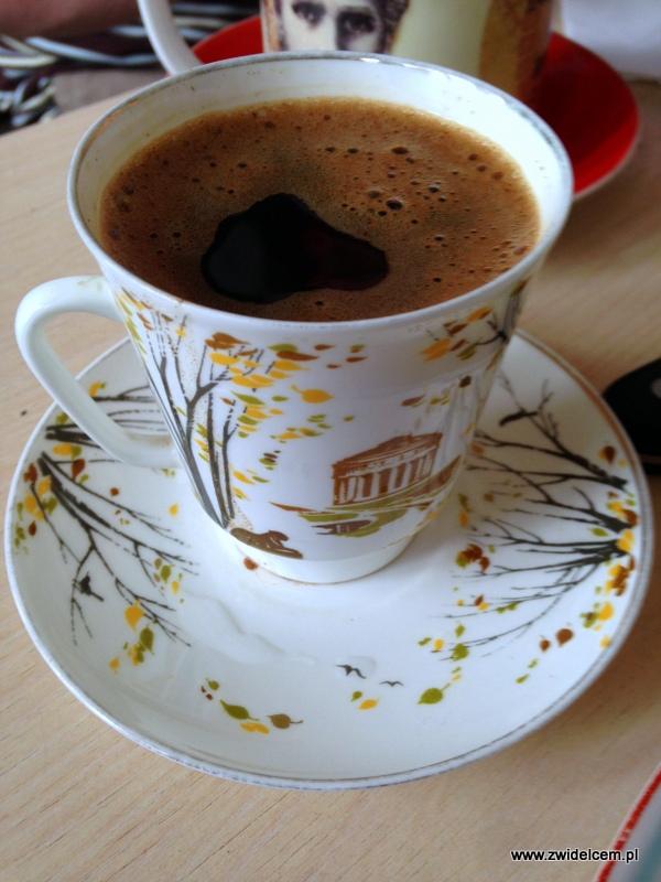 Gruzja - Tbilisi - kawa po turecku