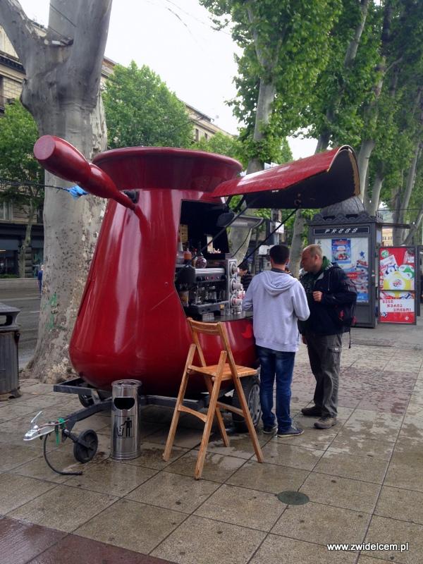 Gruzja - Tbilisi - kawiarnia tygielek