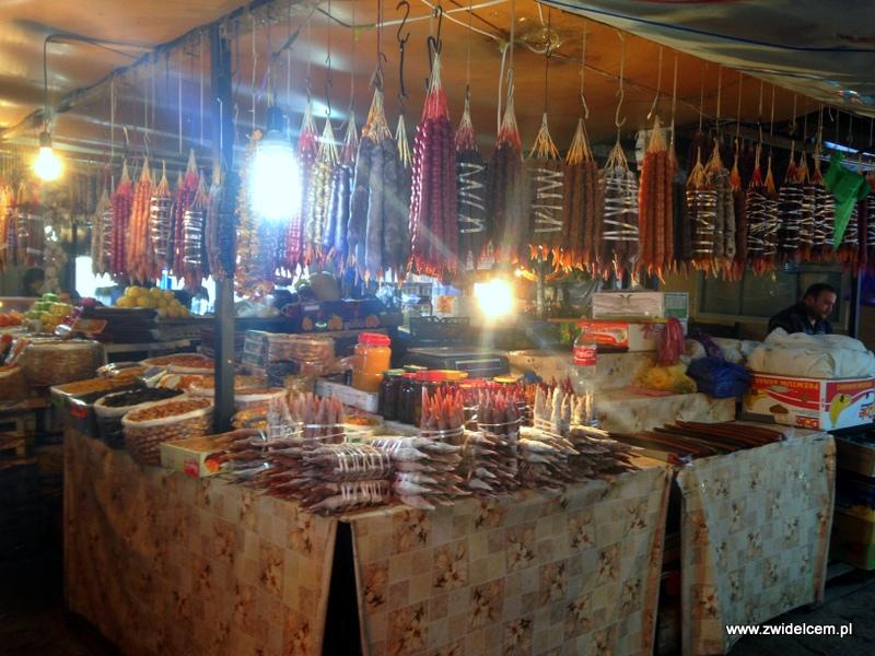 Gruzja - Tbilisi - Dezerters Bazaar- czurczhele