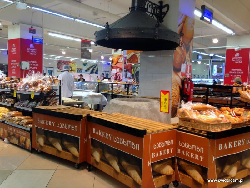 Gruzja - Tbilisi - Carrefour - piekarnia