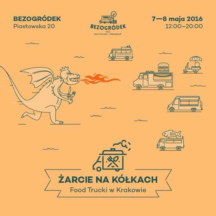 Kraków - Bezogródek - Żarcie na kółkach