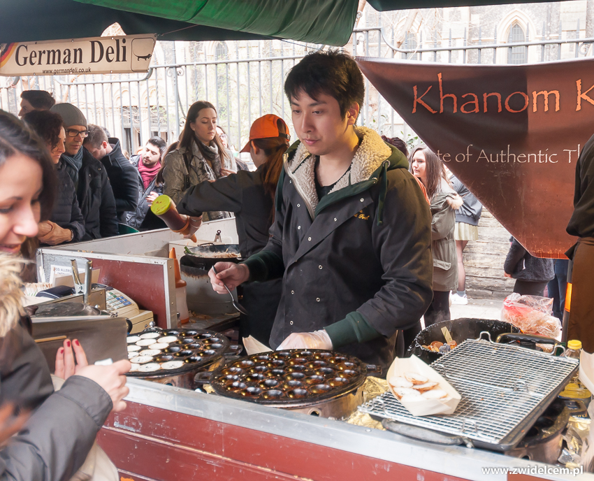 Londyn - London - Borough Market - Khanom Krok