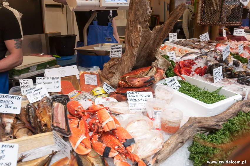 Londyn - London - Borough Market - seafood
