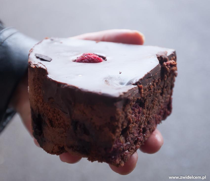 Londyn - London - Borough Market - ciasto czekoladowe