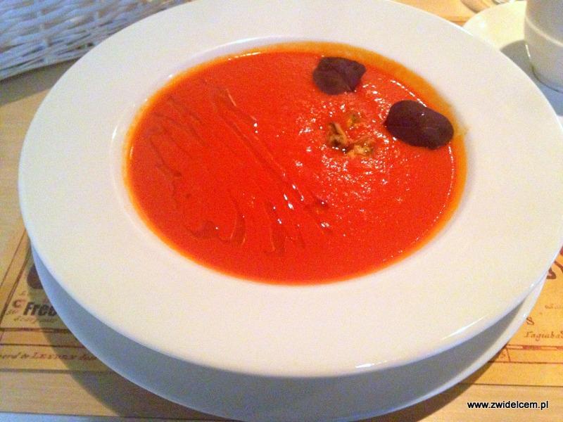 Kraków - Art&Grill Krym -chyrmyzly - pomidorowa z małżami