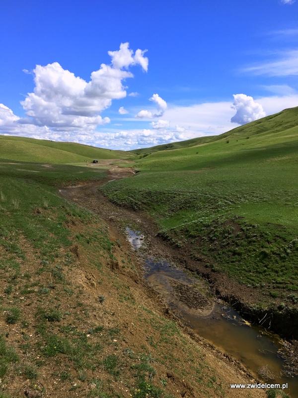 Gruzja - Udabno - Dolina, w której ugrzęźliśmy