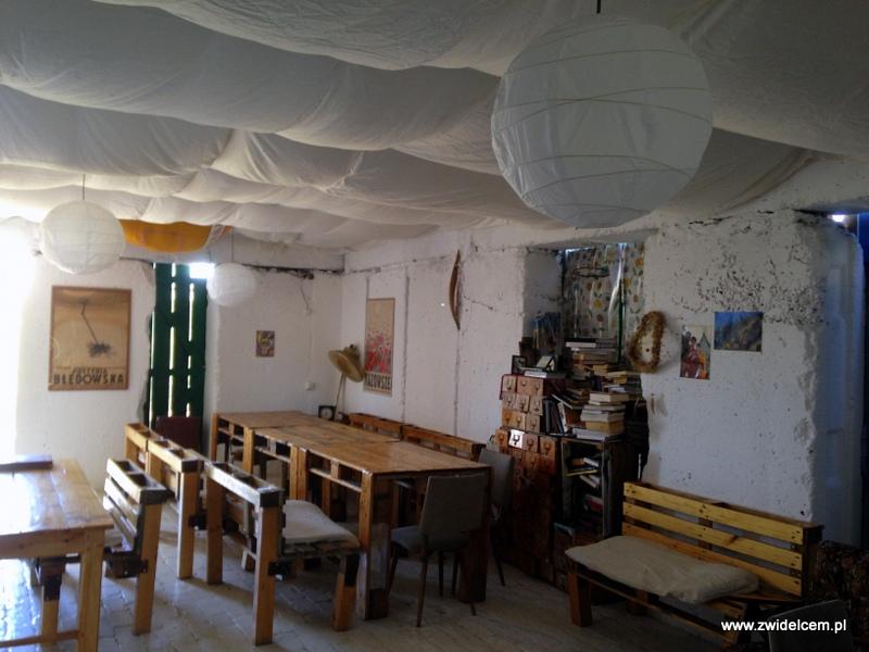 Gruzja - Udabno - Oasis club - sala konsumpcyjna