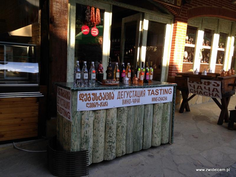 Gruzja - Mccheta - degustacja