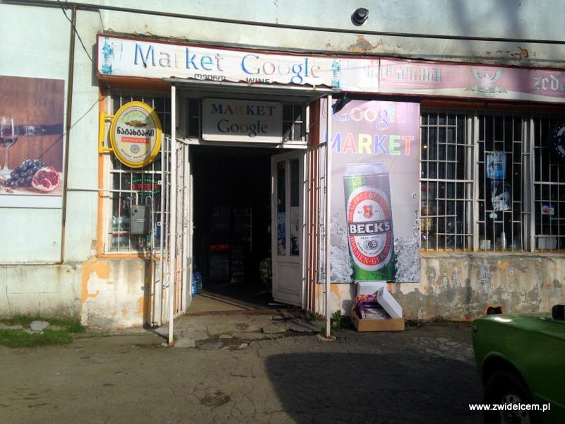 Gruzja - Kazbegi - Market Google