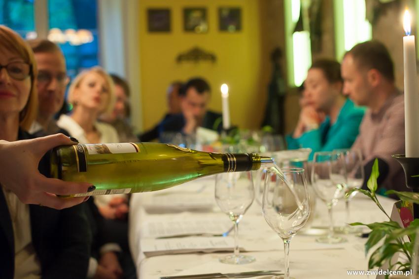 Kraków - Klimaty Południa - Festiwal szparagów i rieslinga - rozlewanie wina