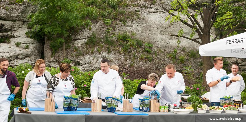 Ogrodzieniec - Poziom 511 Design Hotel & Spa - Pokaz kulinarny z Karolem Okrasą - gotowanie