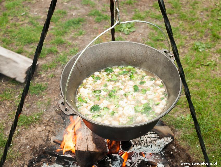 Ogrodzieniec - Poziom 511 Design Hotel & Spa - Pokaz kulinarny z Karolem Okrasą - zupa kalafior
