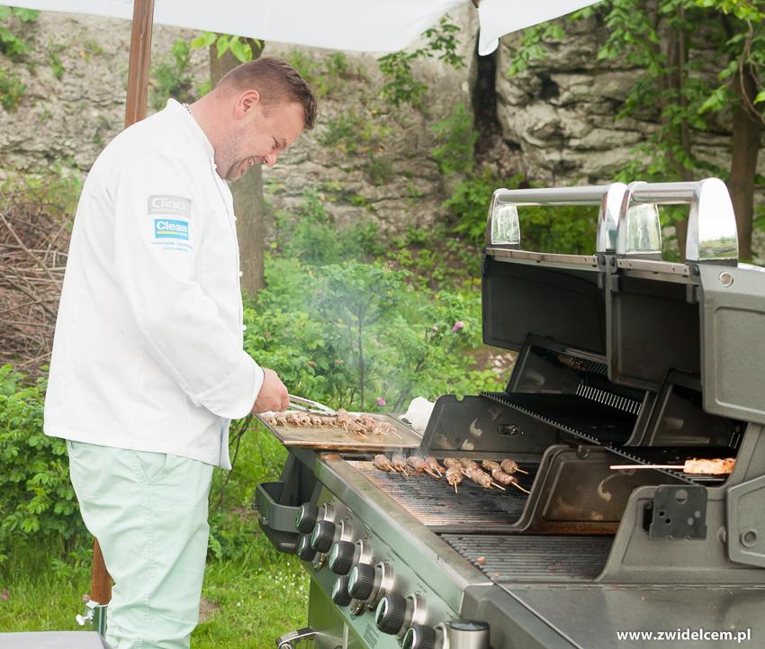 Ogrodzieniec - Poziom 511 Design Hotel & Spa - Pokaz kulinarny z Karolem Okrasą - grillowanie