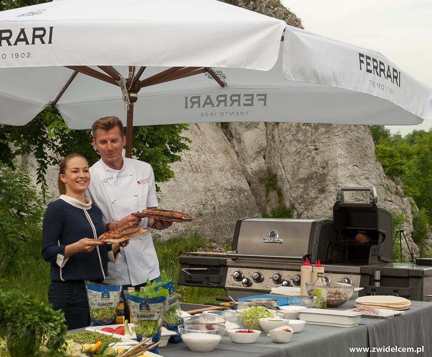 Ogrodzieniec - Poziom 511 Design Hotel & Spa - Pokaz kulinarny z Karolem Okrasą - łosoś