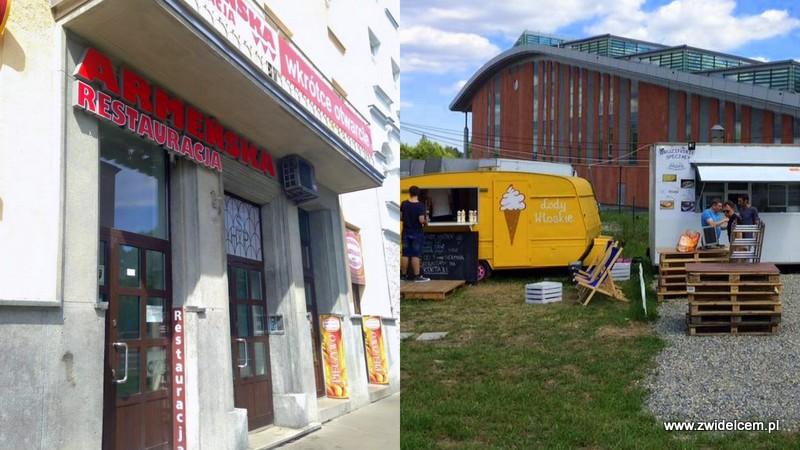 Kraków - Restauracja Armeńska - Ruczaj - Lody