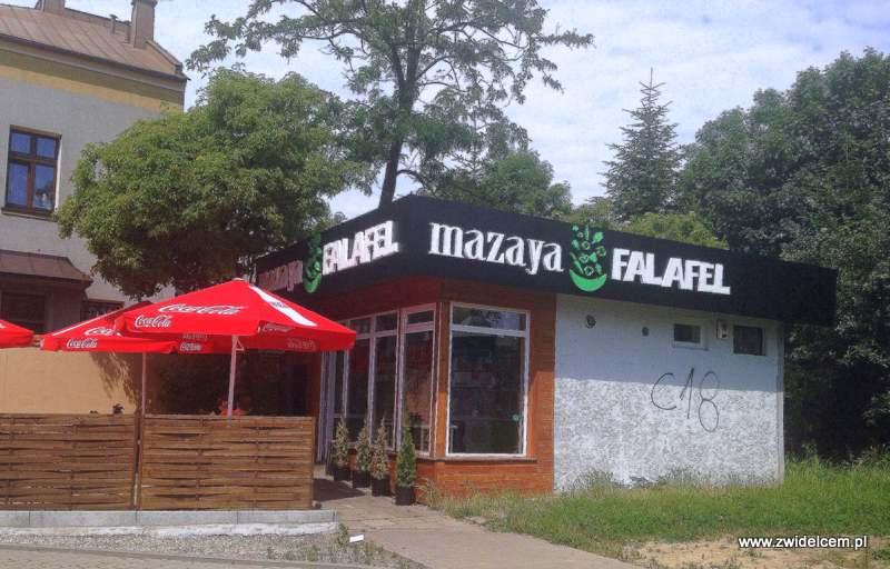 Kraków_mazaya Falafel_lokal