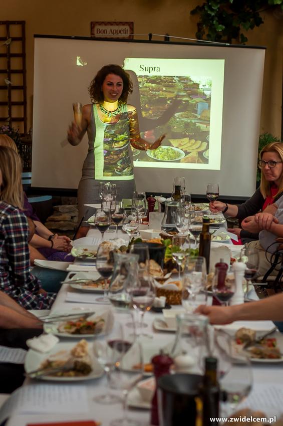 Kraków - Klimaty Południa - degustacja win z winnicy Vaziani - Keti i supra
