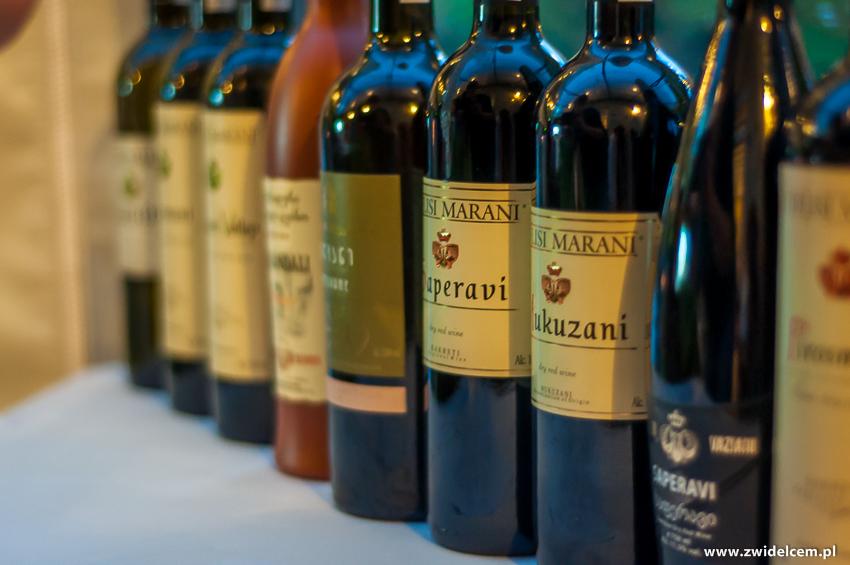 Kraków - Klimaty Południa - degustacja win z winnicy Vaziani - wina gruzińskie