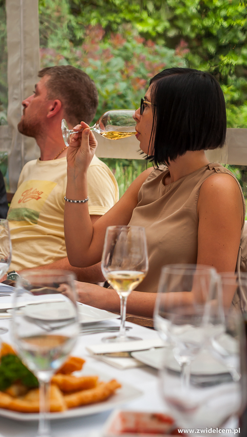 Kraków - Klimaty Południa - degustacja win z winnicy Vaziani - degustacja wina białego