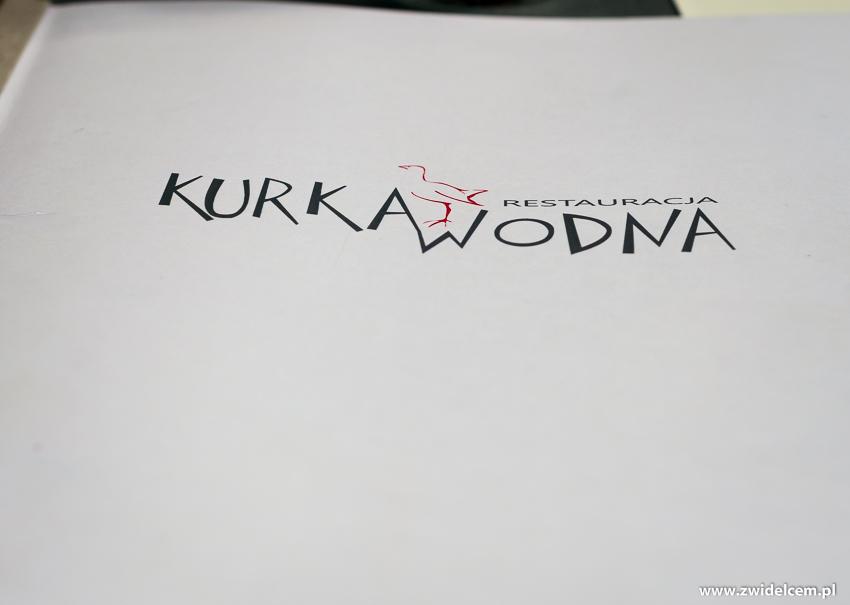 Kraków - Kurka Wodna - Menu