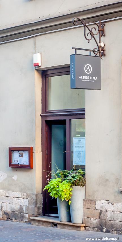 Kraków - Albertina - Fine Dining Week - wejście