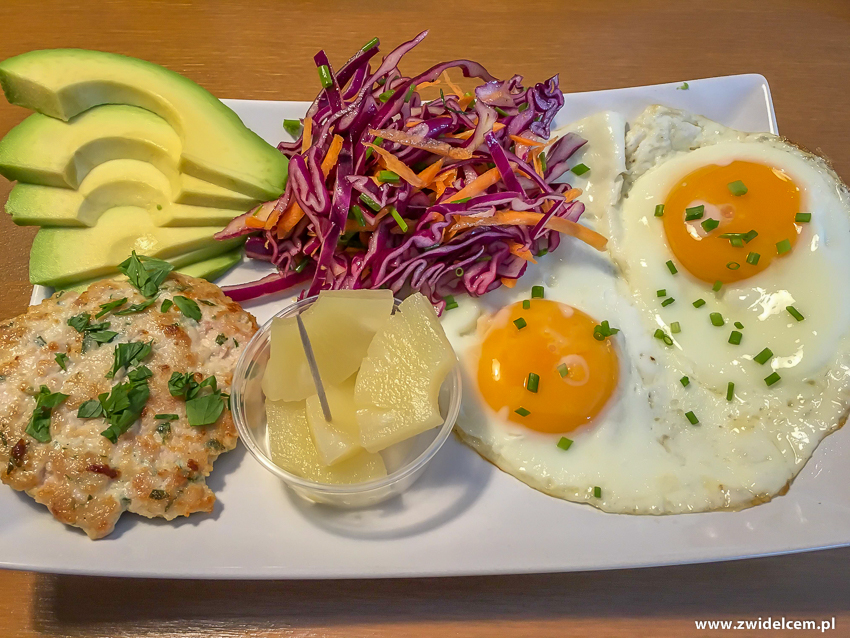 Kraków - Chicken Cafe - Tacka proteinowa