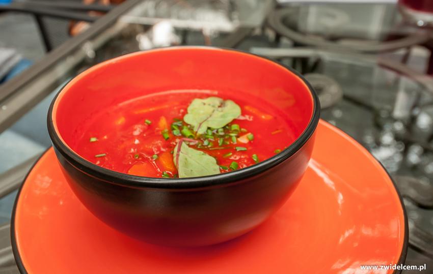 Kraków - Kardamon Dębniki - zupa pomidorowa