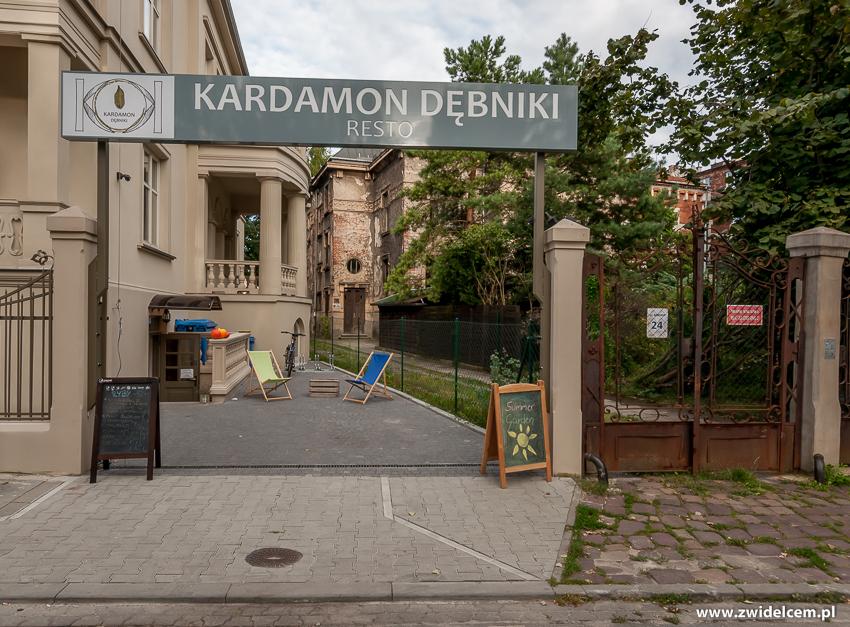 Kraków - Kardamon Dębniki - wejście