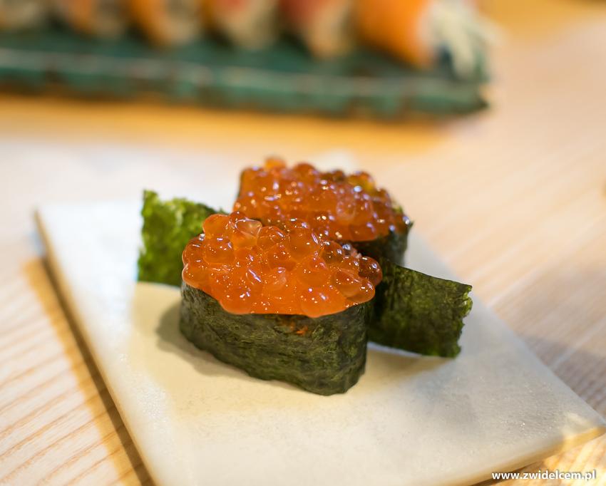 Kraków - Nago Sushi & Sake - Gunkan maki Ikura
