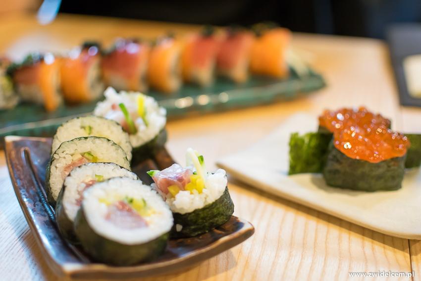 Kraków - Nago Sushi & Sake -Futomaki z okoniem