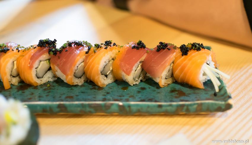 Kraków - Nago Sushi & Sake - Rainbow maki special nago