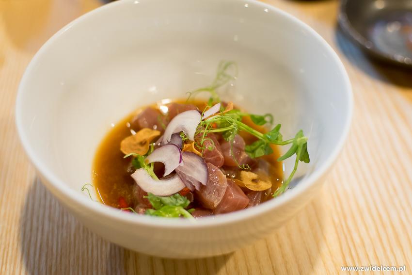 Kraków - Nago Sushi & Sake - Ceviche z tuńczyka