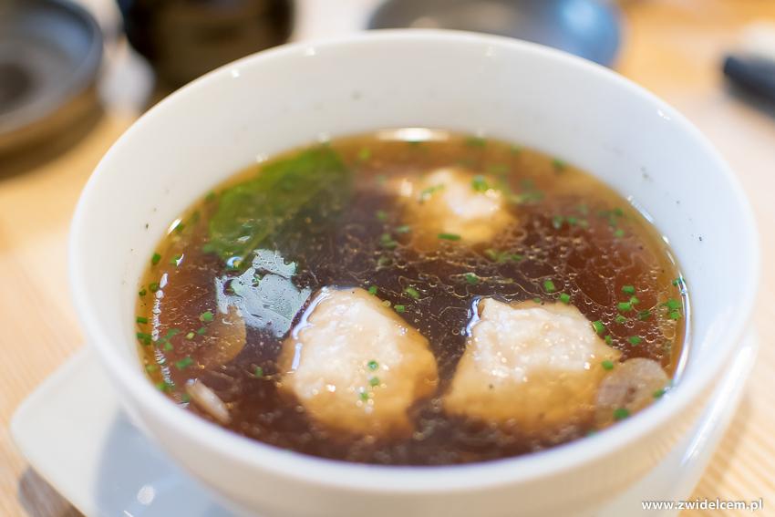 Kraków - Nago Sushi & Sake - Zupa won-ton