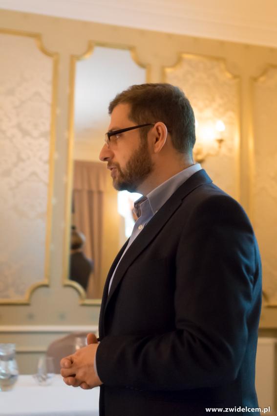 Kraków - Dwór Sieraków - Nowa osobowość kuchni i win Mołdawii - Wojciech Giebuta