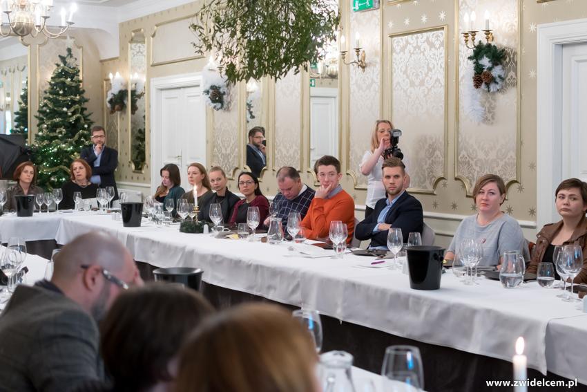 Kraków - Dwór Sieraków - Nowa osobowość kuchni i win Mołdawii - goście