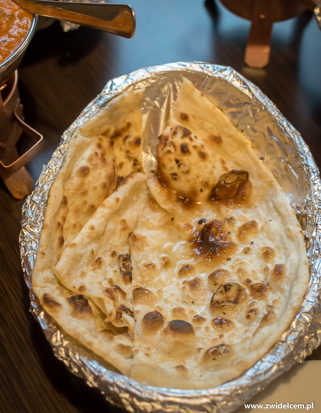 Kraków - Taste of India - butter naan