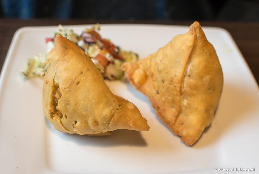Kraków - Taste of India - Samosa