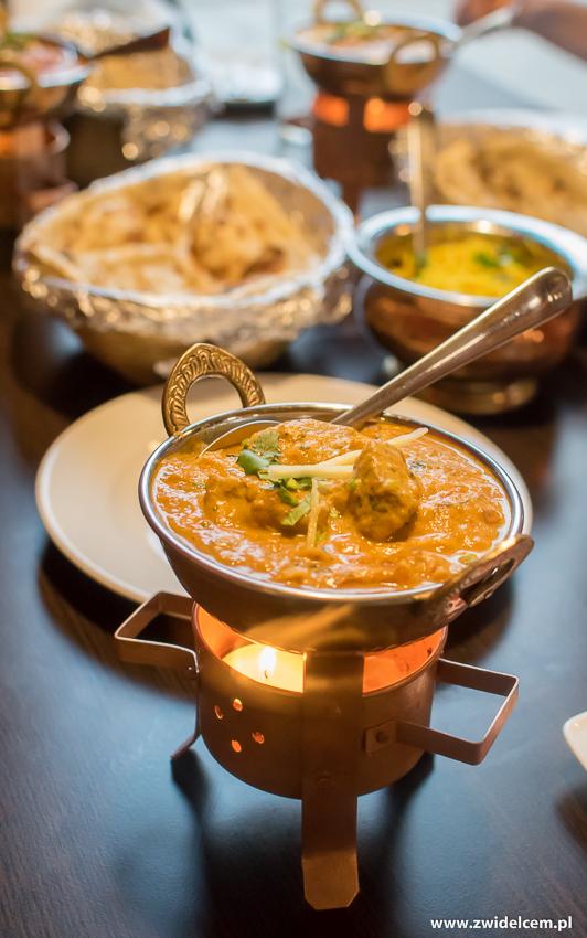 Kraków - Taste of India - Lamb Masala - jagnięcina
