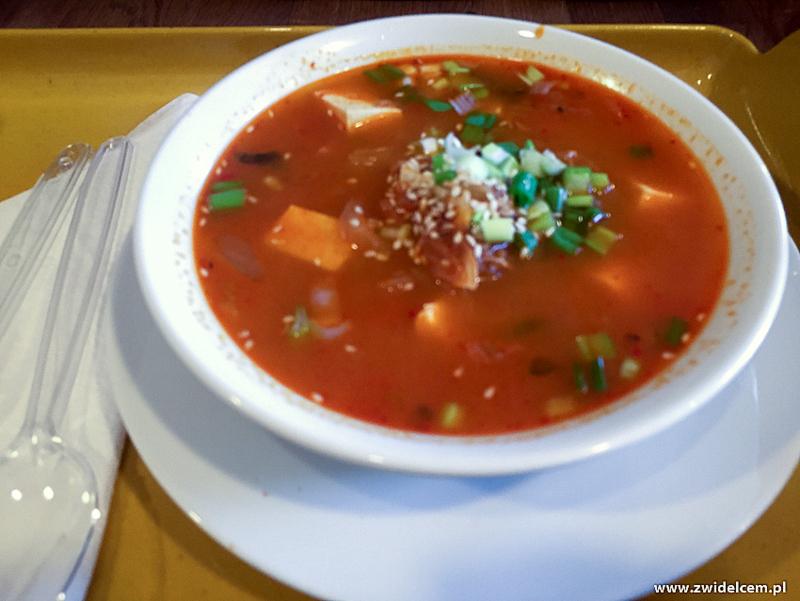 Kraków - Oriental Spoon - zupa z kimchi