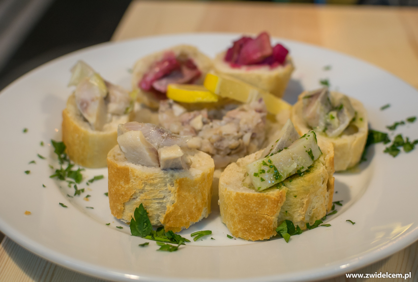 Kraków - Pastram Deli-uczta śledziowa