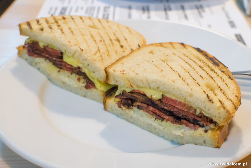 Kraków - Pastram Deli- kanapka Reuben