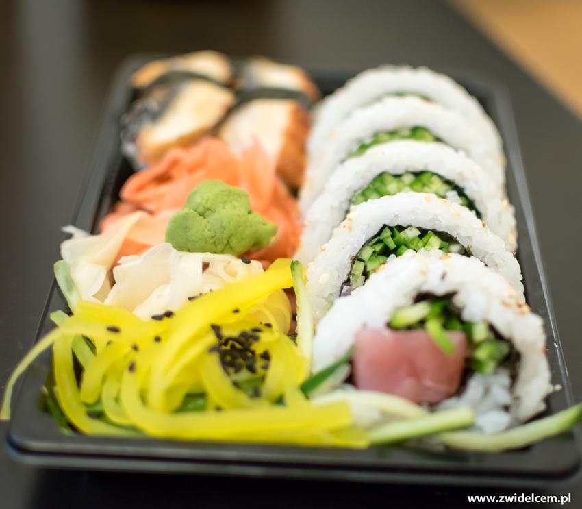 Kraków - Koku Sushi - Uramaki tuńczyk