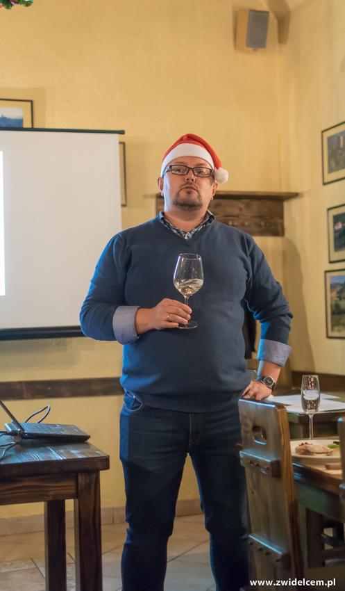 Kraków - Il Calzone - degustacja win gruzińskich- Mariusz - Mikołaj