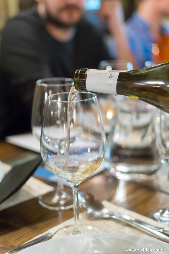 Kraków - Il Calzone - degustacja win gruzińskich- wino