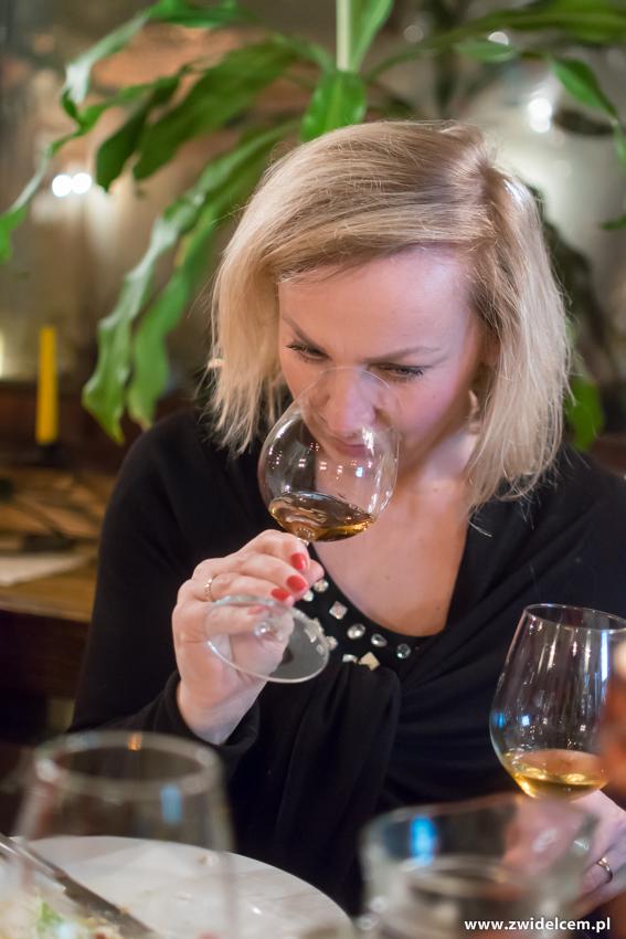 Kraków - Il Calzone - degustacja win gruzińskich- Bożena