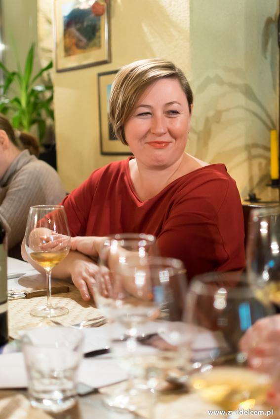 Kraków - Il Calzone - degustacja win gruzińskich - Tatiana