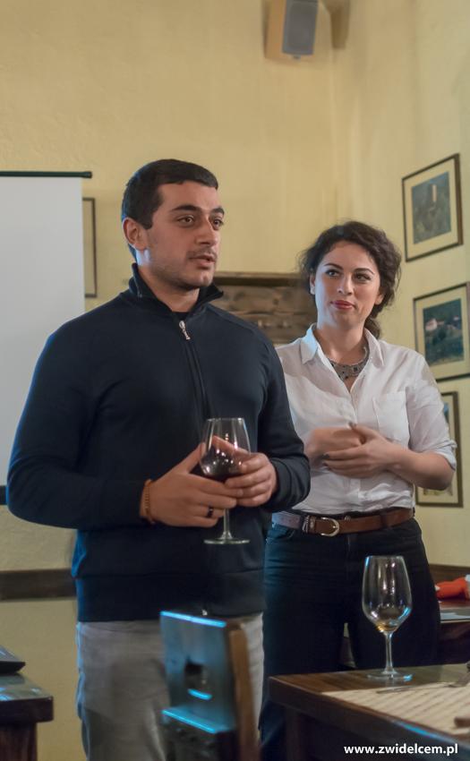 Kraków - Il Calzone - degustacja win gruzińskich - tamada