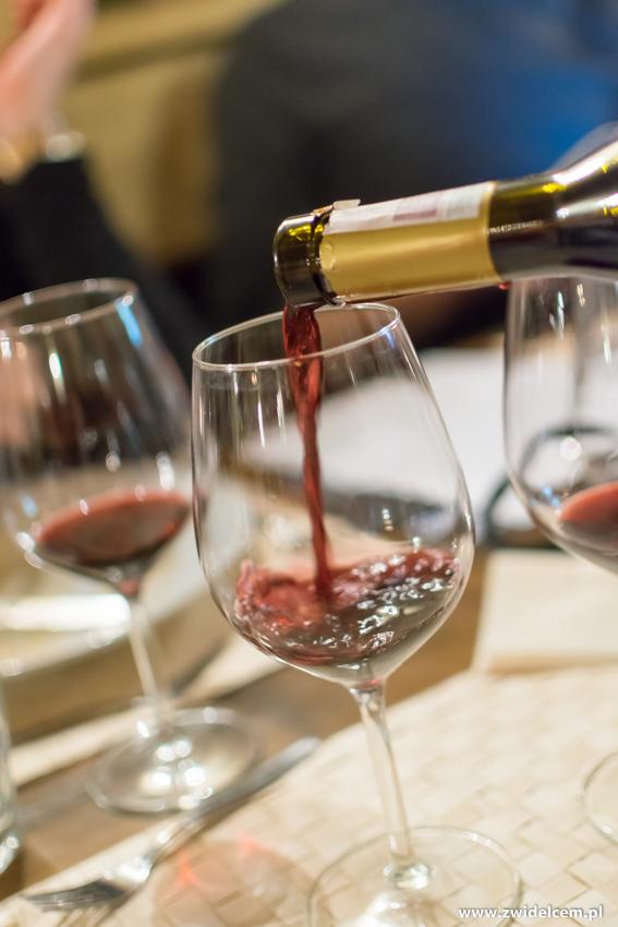 Kraków - Il Calzone - degustacja win gruzińskich - wino czerwone