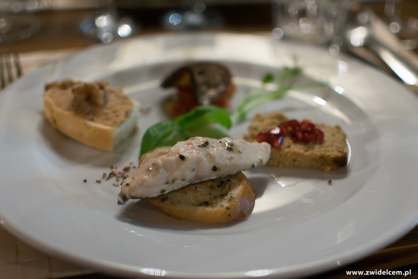 Kraków - Il Calzone - degustacja win gruzińskich - przekąski