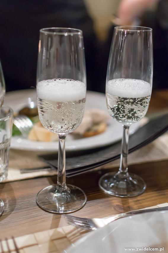 Kraków - Il Calzone - degustacja win gruzińskich - Sparkling brut – Marani
